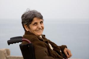 woman wheelchair